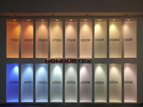 HONOURTEK Light color from 1700K to 20000K