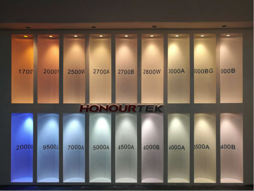 HONOURTEK Light color from 1700K to 20000K